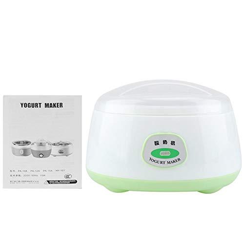 1L Yogurtiera Yogurt Maker Acciaio Inossidabile Mini Elettrico Automatico Macchina per Fermentazione Yogurt Yogurtiere Yogurtiera Elettrica per Yogurt Naturale DIY Cibo Salutare