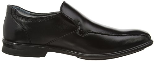 Hush Puppies - Theo Gravity Iiv, Mocassini Uomo Nero (Black)