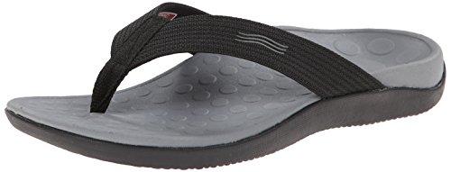 Vionic con tecnologia Orthaheel Unisex Wave orthatic Sandal Black