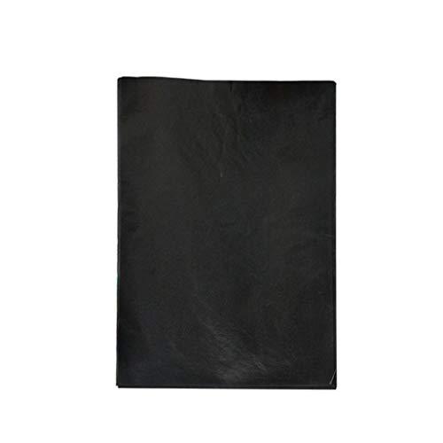 Nicolarisin Schwarzes Kopierpapier, Kohlepapier, schwarzes Pauspapier für Hand, Schreibmaschinen und Textverarbeitungsgeräte, 21x29,7 cm, 10 STÜCKE