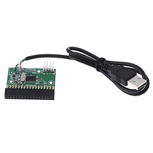 FADACAI USB-Kabel zum 34-Pin-Disketten-Schnittstellenadapter PCB-Treiberplatine