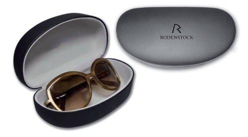 Rodenstock - großes Brillenetui mit Metallscharnier für stark gebogene Brillen - XXL