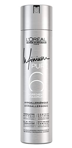 Infinium 6 Pure Extra Strong Hairspray Loreal Professionnel 300 ml