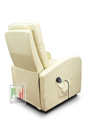 Poltrona Reclinabile Telecomando.Stil Sedie Poltrona Reclinabile Relax Alzapersona Automatica