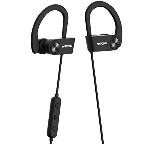 Mpow D9 - Auriculares Deportivos Bluetooth con 16 Horas de duración