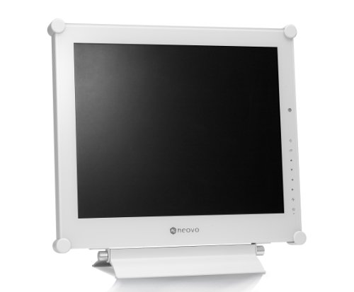 AG Neovo DR 17P 17 inch great Resolution Durable Monitor White Monitors
