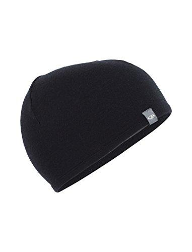 Icebreaker Pocket Hat Mütze, Black/Gritstone Hthr, OS -