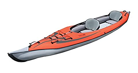 ADVANCED ELEMENTS Unisex Adult Advanced Frame Convertible Kayak - Red