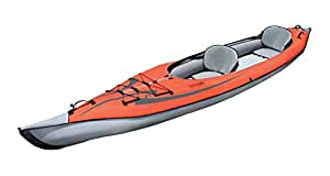 Advanced Elements AE1007-R AdvancedFrame Kayak Gonfiabile, Rosso (rot)