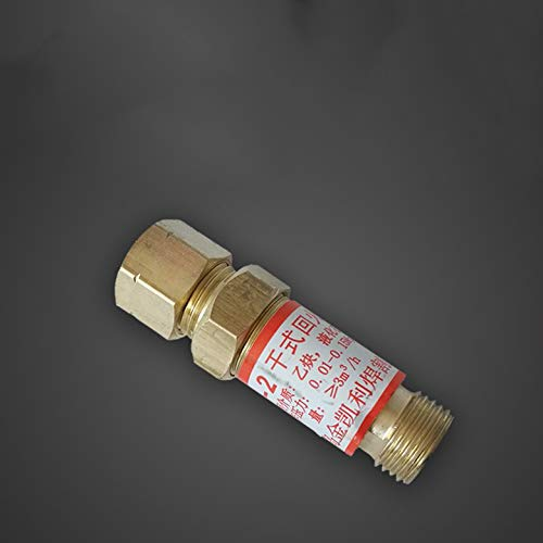 Preisvergleich Produktbild Acetylen-Rückflusssperre Rückschlagventil Flamme Buster Sicherheitsventil Temper Preventer Sauerstoff-Schutzventil