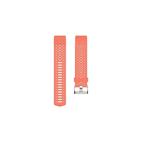 FitBit FB160SBCRL Charge 2 Sports Accessory Band - Coral/Large