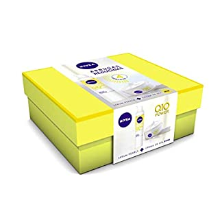 NIVEA Pack Q10 Power Crema Dia FP30 y Serum Pearls – Cofre