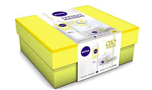 NIVEA Pack Q10 Power Crema Dia FP30 Serum Pearls -