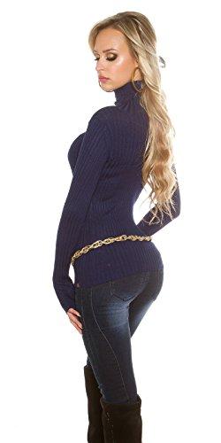 Koucla - Pull - Femme S/M Bleu Marine