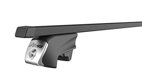 Atera 048422 RTD Träger, Vierkant Tragrohr, Profil: 32 x 22 mm, aus verzinktem Stahlrohr, Kunststoffüberzug in schwarz