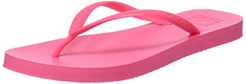 Reef Damen Escape Zehentrenner, Rosa (Hot Rosa), 42.5 EU (Schuhe Leder Rosa Hot)