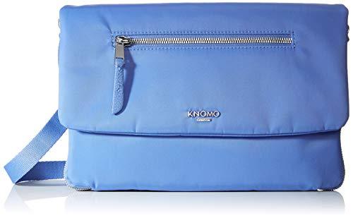 Knomo Mayfair Umhängetasche, 28 cm, 0.8 liters, Blau (Cornflower Blue)