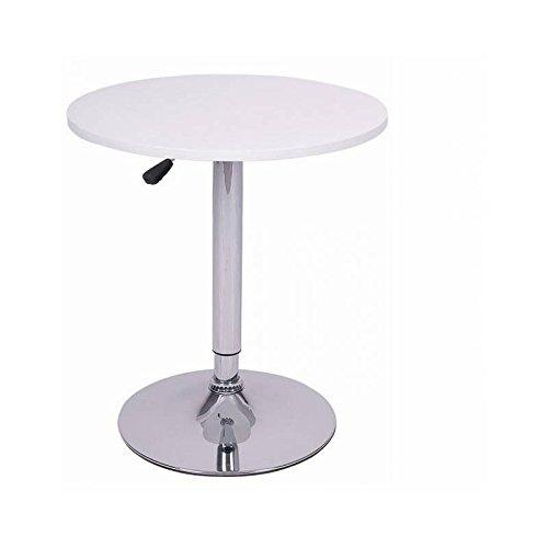 Mesa redonda blanca de 60cm