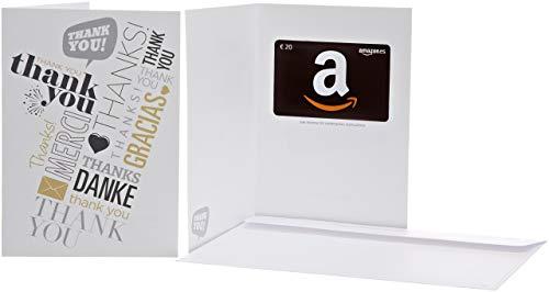 Tarjeta Regalo Amazon.es - €20 Tarjeta felicitación