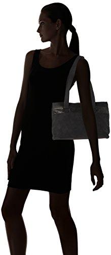 Tamaris - Khema Shoulder Bag, Borse a spalla Donna Nero (Black Comb.)
