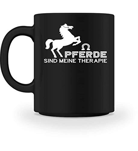 Pferde sind meine Therapie für Reiter - Tasse -