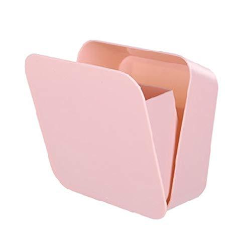 Kakiyi Wasserdicht versiegelt Badezimmer Regal Storage Box Wandhalter Telefon-Kamm-Bürsten-Standplatz-Staub-Beweis-Rack -