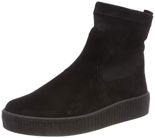 Gabor Shoes Damen Jollys Schlupfstiefel, Schwarz (Schwarz (Schwarz) 17), 40.5 EU