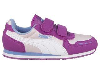 Puma Purple Baskets 356373-18 34 Violet