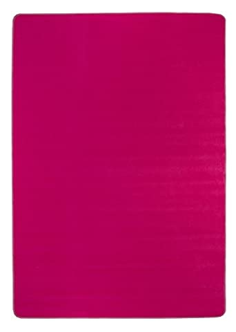 misento 292210 Velours, Kurzflorteppich Lifestyle, uni-/ kräftige farben, 160 x 240 cm