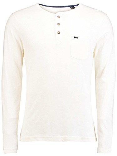 O'Neill Herren Lm Jack's Base Henley Ls Top T-Shirt weiß