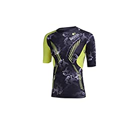682cf3c08af2 BOXEUR DES RUES Serie Fight Activewear, T-Shirt con Foro per Auricolari  Uomo ...