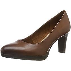 Tamaris 1-1-22410-23, Zapatos con Plataforma para Mujer, Marrón (Cognac 305), 38 EU