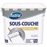 BRUNEL 5076951 Peinture sous-couche universelle intérieure Pro 5 L Blanc