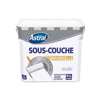 Brunel 5076951 Peinture Sous-Couche Universelle Intérieure Pro 5 L