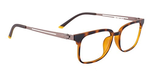 TIJN Metall Quadrat Brillen Rahmen für Damen und Herren