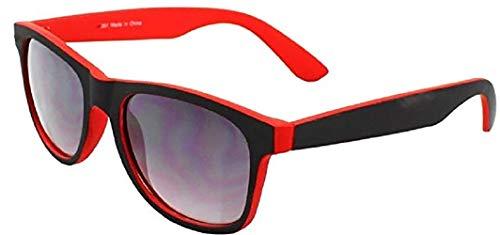 c4011d7ab5b2f 4sold Lunettes de soleil unisexes look geek rétro années 80 avec verres  fumés et protection UV400