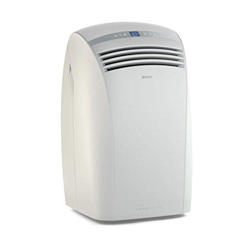 Olimpia Splendid Dolceclima Silver Silent - Climatizador portátil, 2400 W, color blanco