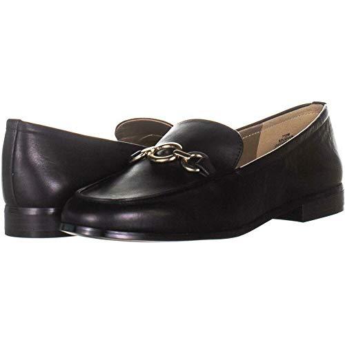 Bandolino Frauen Lehain Leder Loafers Schwarz Groesse 6 US /37 EU