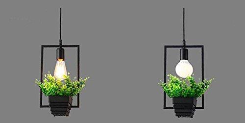 GBT Blumentöpfe Pflanze Kronleuchter bar Restaurant Blumen Topf Töpfe? LED Lichter, warm, Licht, Weißes Licht, Kronleuchter, innen-Lichter, Leuchten, Wand-? (Stroller Bar Toy)