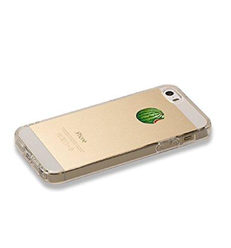 Pacyer® iPhone 6/6s Custodia Frutta TPU Gel Protettivo Anti-drop Skin Shell Case Cover Per Apple iPhone 6 6s (4,7) Anguria