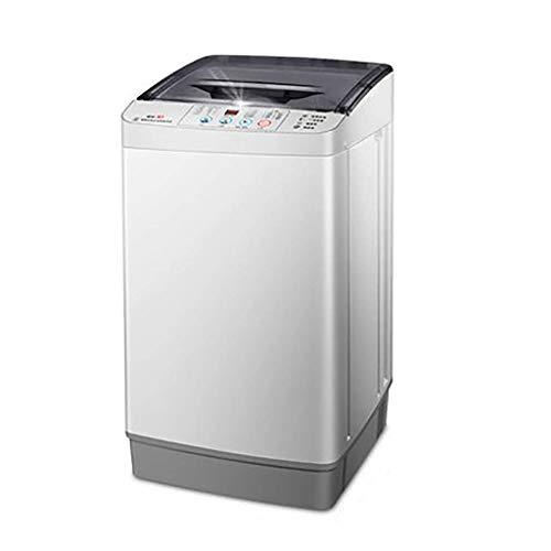 LXDDP Tragbare Waschmaschine Kleine tragbare Waschmaschine Vollautomatisch 4,8 kg/10,5 lbs Waschkapazität Einzelne Wanne Mit Abflusskorb Haushalt Wohnung Intelligente Tastensteuerung