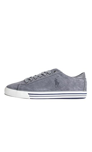 Polo Ralph Lauren HARVEY Sneakers Basse Uomo Grigio 42