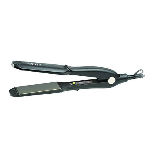 OZOMAX Wide Plate Hair Straightener With Non-Stick Coating - Best Hair Straightening Machine Flat Iron