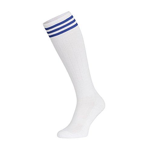 Nessi Damen Kniestrümpfe Baumwollkniestrümpfe Volleyballsocken Sportsocken Socken Damensocken Strümpfe Baumwollstrümpfe Laufsocken Volleyball - Fitness - Tanzen - Inline (Rot Volleyball Socken)
