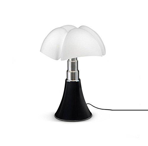 Martinelli Luce 620/J/T/MA Pipistrello Lampe de Table Mini LED Touch On/Off 9 W Tête de Nègre