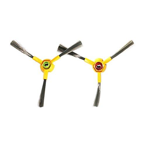SYMTOP Set de 2 de Repuesto aspiradora Side Brush para Ecovacs deeboo Deepoo D70 Serie