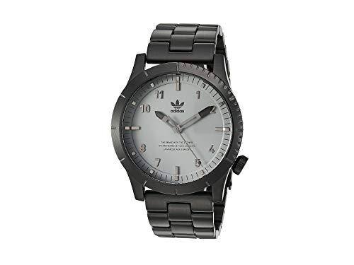 adidas Relojes Hombre Cypher_M1. Pulsera De Acero Inoxidable Sólido 3 Enlace, 22 Mm Anchura (Todo 0,42 Mm)