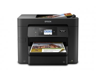 Epson WF-4730DTWF 4800 x 1200DPI Inkjet A4 20ppm Wi-Fi multifunctional - multifunctionals (Inkjet, Colour printing, Colour copying, Colour scanning, Colour faxing, 25000 pages per month)