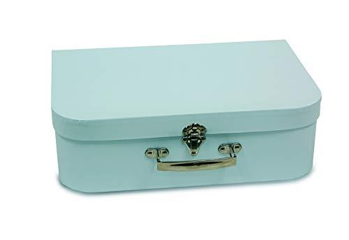 Valigetta in cartone, colore: azzurro 30_cm