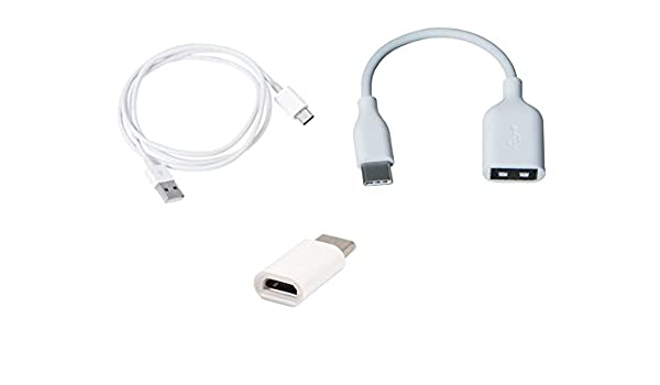 USB 3.1 Type C Male to Micro USB Charger Data Cable Adapter For Meizu Pro 7